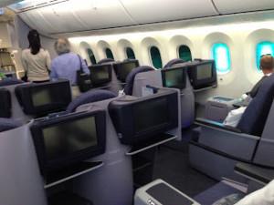 787 BusinessFirst Cabin