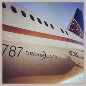 Dreamliner Tail
