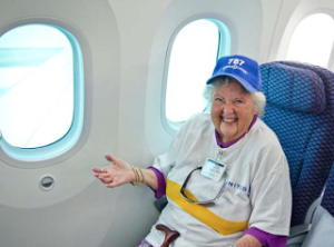 Dreamliner Windows w/Grandma
