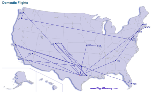 2013 Domestic Flights