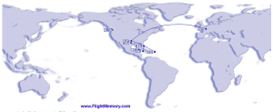 2013 international flights