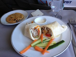 Roast beef wrap. DFW-EGE. 2013.