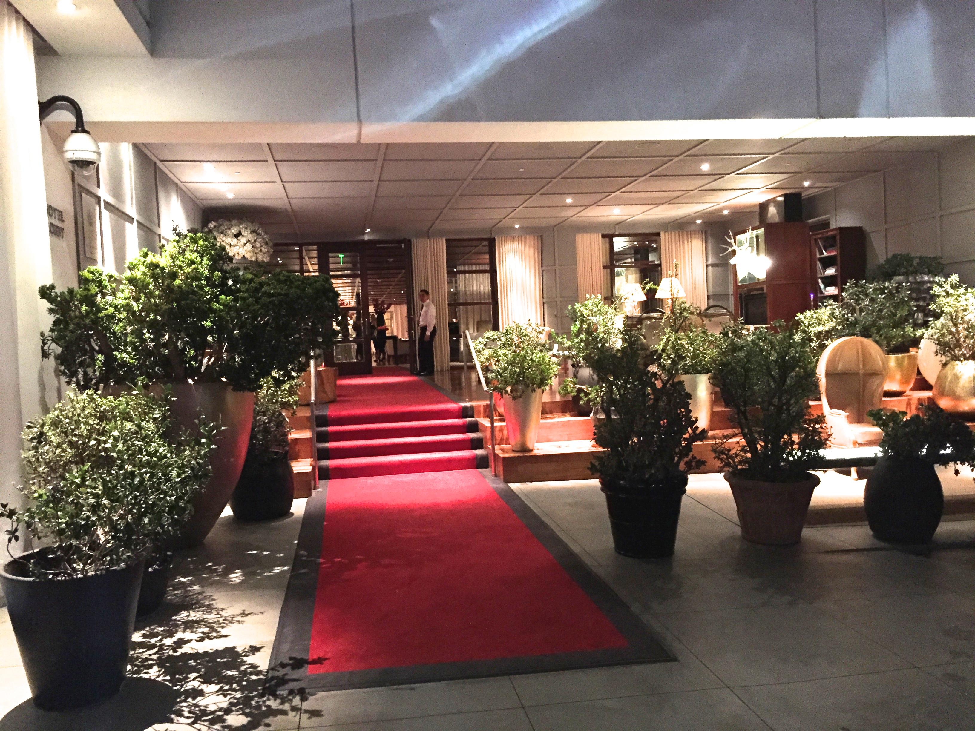 Sls beverly hills hotel entrance