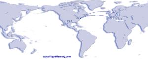 international flights 2014