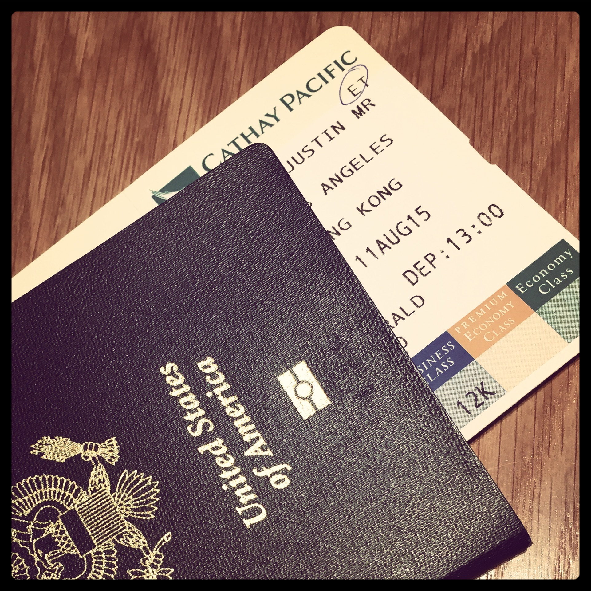 I was super excited for my first time on Cathay Pacific and the first leg of my Round-The-World itinerary.