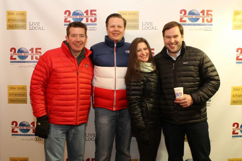 Hanging out at the 2015 FIS Alpine World Ski Championships in Vail, Colorado